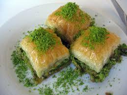 pistachio baklava (antep fıstıklı baklava)