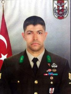 Ömer Halisdemir (one of the hero officers preventing the coup in Turkey)