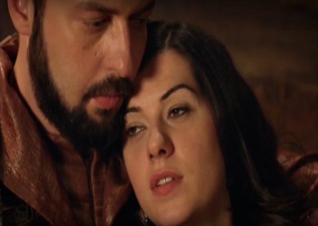 Nigar Kalfa and Ibrahim Pasha of Magnificent Century in love